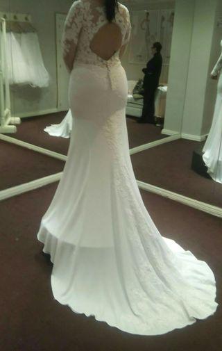 vestido de novia de segunda mano en huelva en wallapop