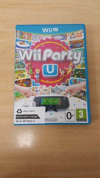 Juego Wii Party U Wii u