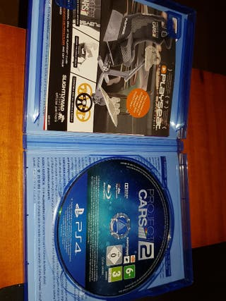 VENDO JUEGO DE PS4 (PROJECT CARS 2)