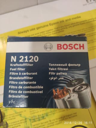 filtró combustible n2120 Bosch