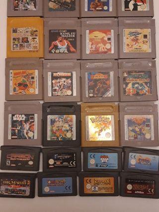juegos game boy's