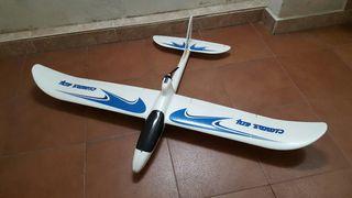 Avión eléctrico radio control completo!!!