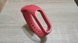 recambio pulsera mi band 2 roja y blanco