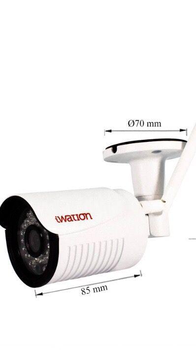 Kit cámaras vigilancia exterior Wifi NVR