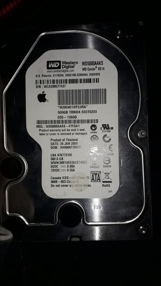 disco duro apple 500gb