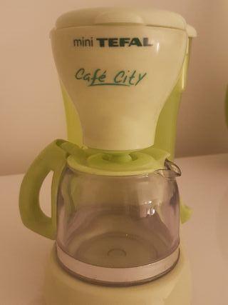 Cafetera de juguete imitación Tefal