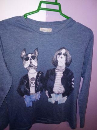 Camiseta rockera ZARA BOY