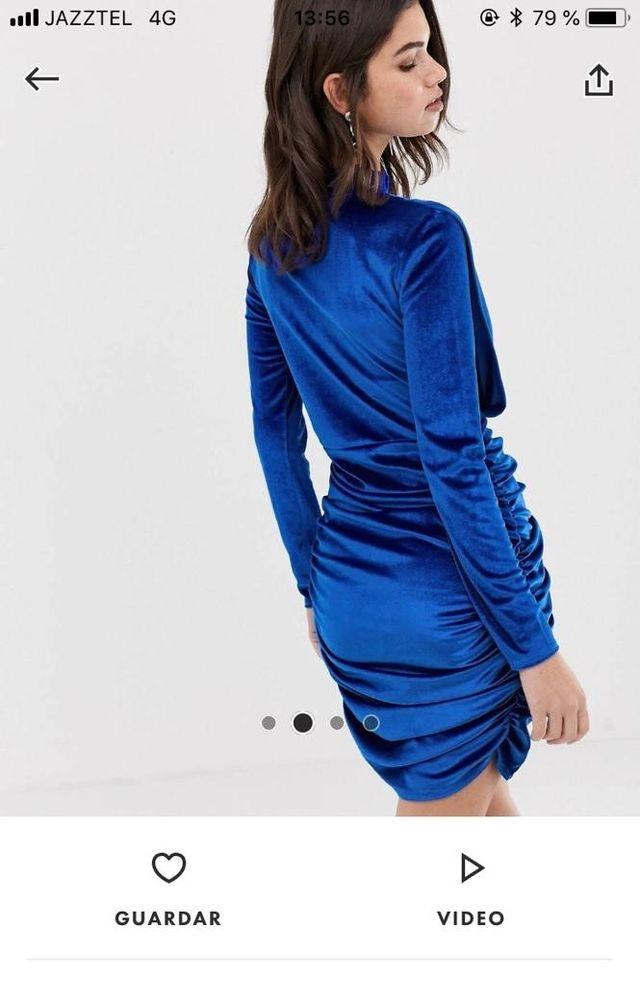 1ea64f803 Precioso vestido de fiesta azul de segunda mano por 22 € en Murcia ...