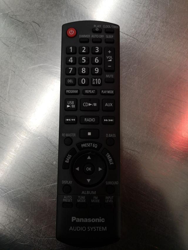 Panasonic mando a distancia