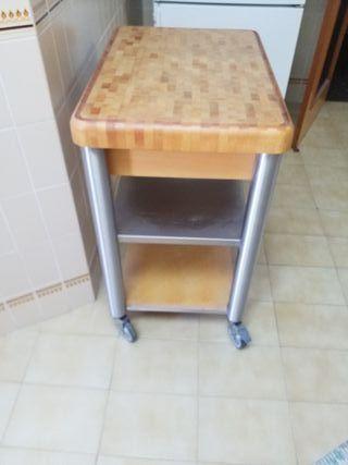 camarera mueble auxiliar cocina