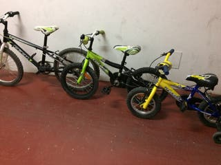 Set de 3 bicis infantiles