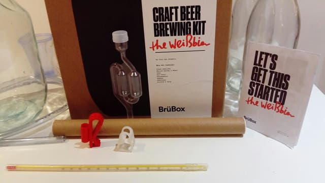 BrüBox - Craft Beer Brewing Kit