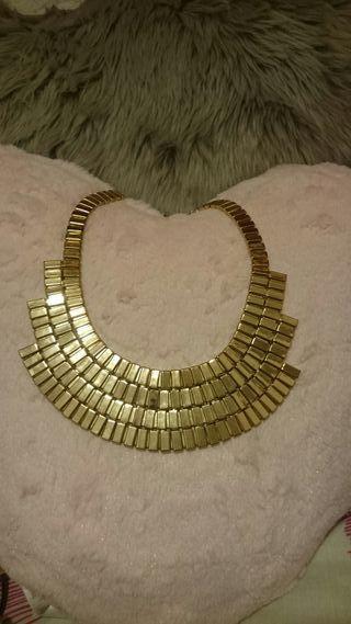 Pack de collares plateado y dorados