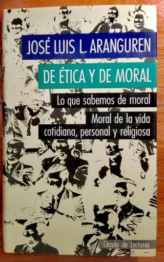 DE ÉTICA Y DE MORAL