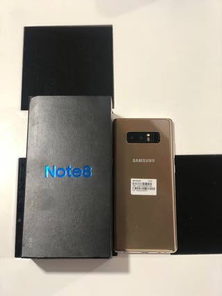 SAMSUNG NOTE 8 64GB GOLD