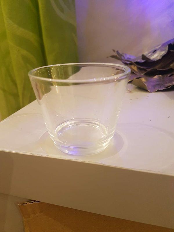 100 photophores en verre