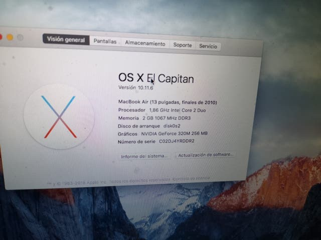 MacBook air. rebajado