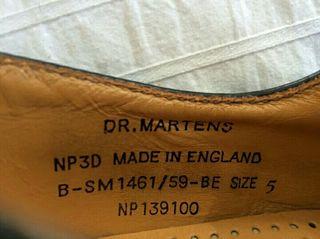 Botas dr. martens