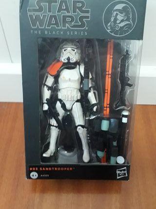 "Star Wars Black Series 6"" Sandtrooper UNIDAD"