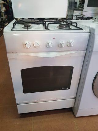 Cocina con horno butano de segunda mano en WALLAPOP
