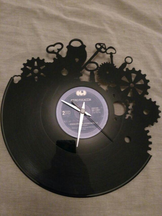 reloj de vinilo Vinyluse