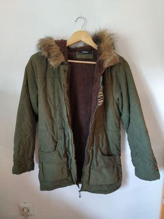 Abrigo verde S Nuevo