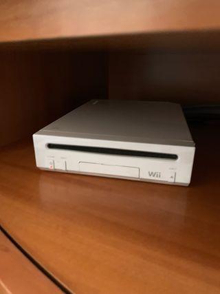 Cónsola juegos Wii Nintendo + mandos+juegos