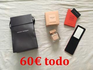 NARCISO RODRIGUEZ PACK PERFUME + ESPEJO COMPACTO