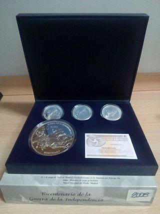 Moneda euro set plata 2008