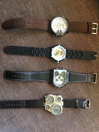 Reloj 4 modelos