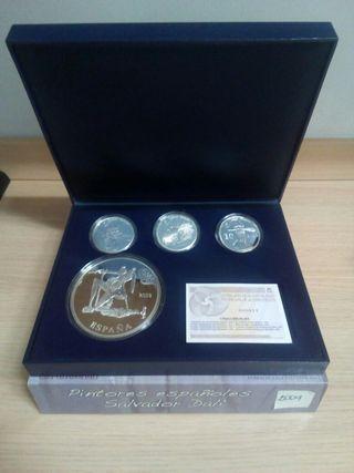 Monedas euro set plata 2009