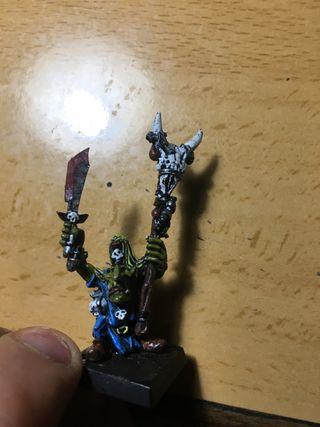 Warhammer Chamán Goblin metal