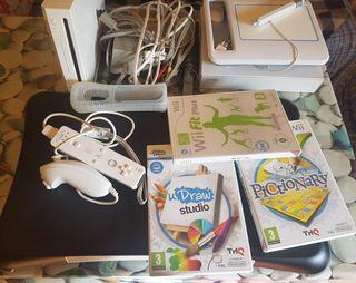 Wii+Udraw gametablet+tabla wii fit