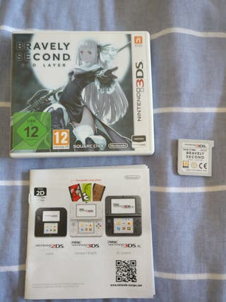 Bravely Second End Layer Nintendo 2DS/3DS