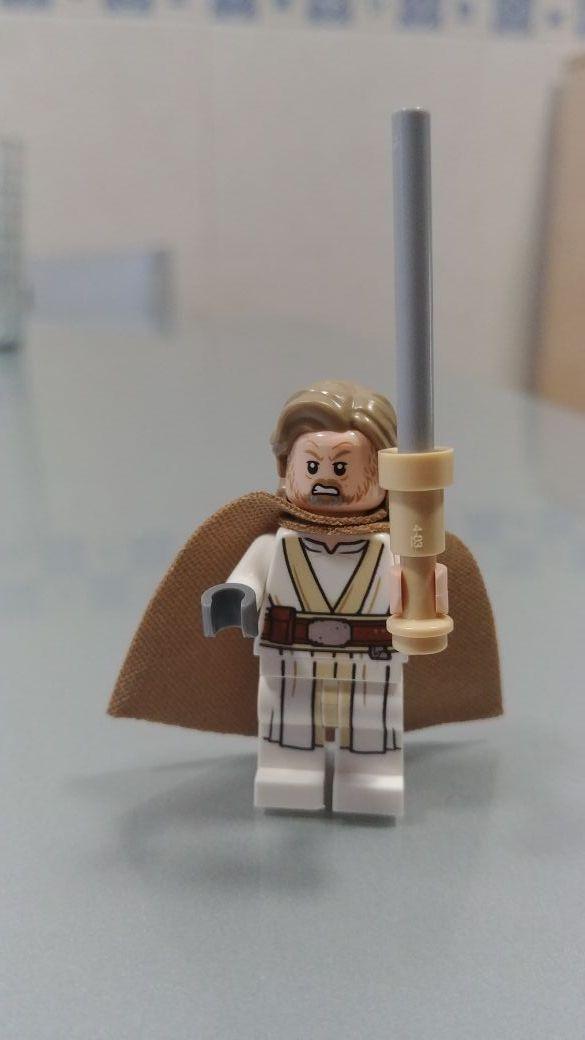 figura lego star wars Luke Skywalker