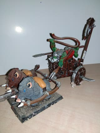 Carro orco Warhammer