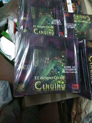 Caja sobres Expansion EL DESPERTAR DE CTHULHU