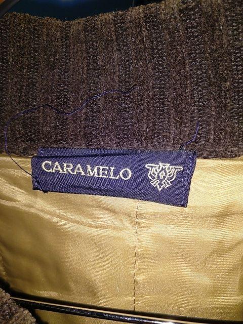 chaqueta punto marca Caramelo