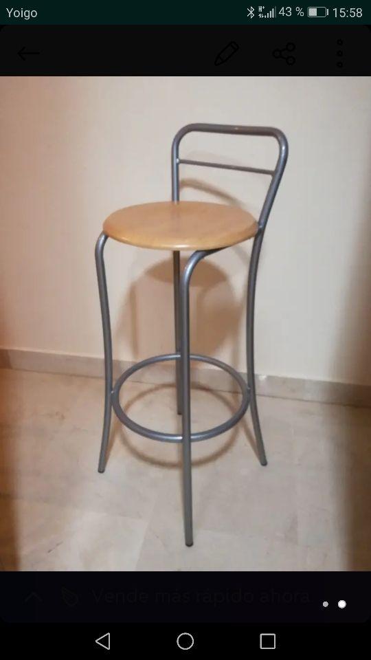 Bancos, sillas para barra de cocina de segunda mano por 40 € en ...