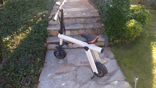 Bicicleta eléctrica gran autonomía joyor