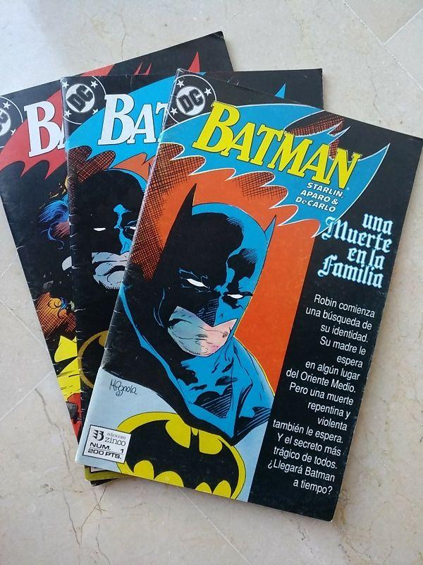 Batman Una Muerte En La Familia De Segunda Mano Por 24 En Elche