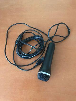 Micrófono USB karaoke wii