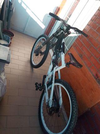 bicicleta de descenso ktm apex