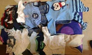 lote ropa bebe desde 1 a 18 meses