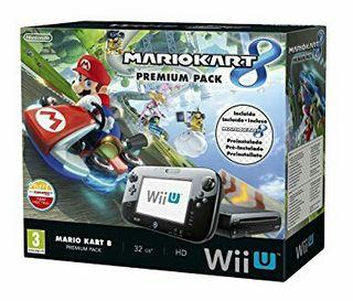 Nintendo Wii U - Consola, Premium Pack + Mario Kar