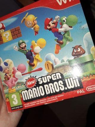 Wii Mario Bros De Segunda Mano En Wallapop