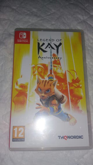 Legend of Kay. Wii switch