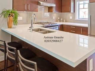 Get Best Snow Quartz Kitchen Worktop London