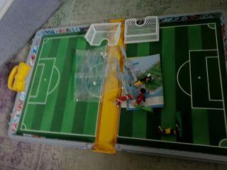 Maletin de fútbol de playmobil