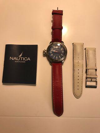 Reloj Nautica A15540 con correa de recambio